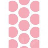 Pink prikkede godteposer