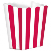 Popcornbægre - rød