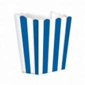 Popcornbægre - blå