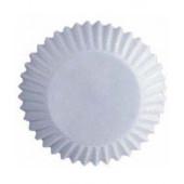 Hvide mini muffinsforme - 100 stk.