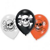 Pirat balloner i 3 farver
