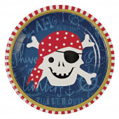Paptallerkener og engangsservice til piratfest og sørøverfest