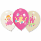 Balloner med prinsesse motiver