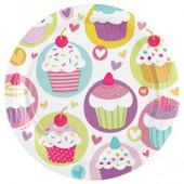 Cupcake paptallerkner