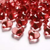 Hjerte diamanter - rød