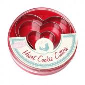 Udstikker sæt - hjerter