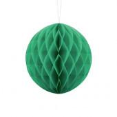 Grøn papirkugle - 20 cm