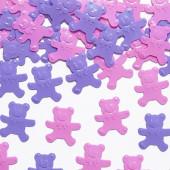 Pink og lille konfetti bamser