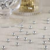 Mat sølv perler