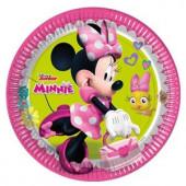 Minnie Mouse Happy Helpers paptallerkner