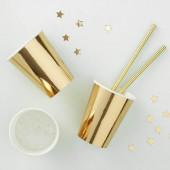 Guld papkrus i metallic