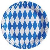 Oktoberfest paptallerkner