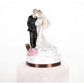 Bryllupsfigur med bånd