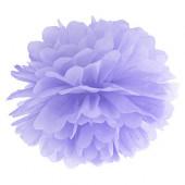 Pom pom lys lilla 35 cm