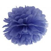 Pom pom navy blå 35 cm