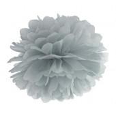 Pom pom grå 35 cm