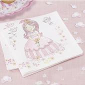 Prinsesse servietter