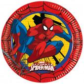 Spider Man paptallerkner