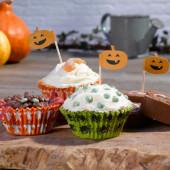 Happy Halloween cupcake sæt