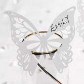 Elegante sommerfugle bordkort