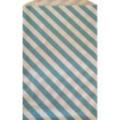 Godteposer - blå striber