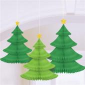 Honeycomb juletræer